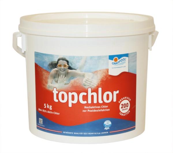 Chlortabletten org. 5kg, 200g