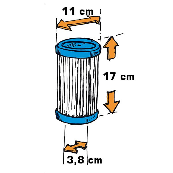 Filterkartusche Skim