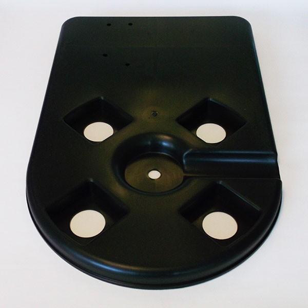 Grundplatte für Poolfilter 1025 und 1050