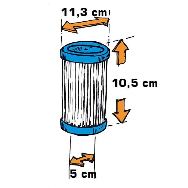 Filterkartusche für Boardskimmer