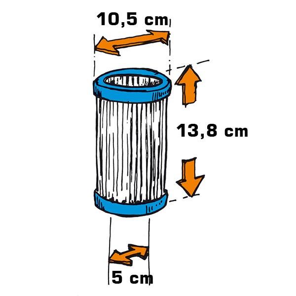 Filterkartusche Flowclear 1/20 HP, 2er-Pack