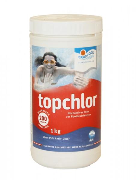 Chlortabletten org. 1kg, 200g