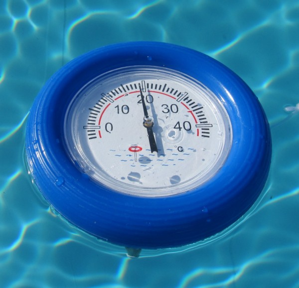Schwimmthermometer mit Sonde